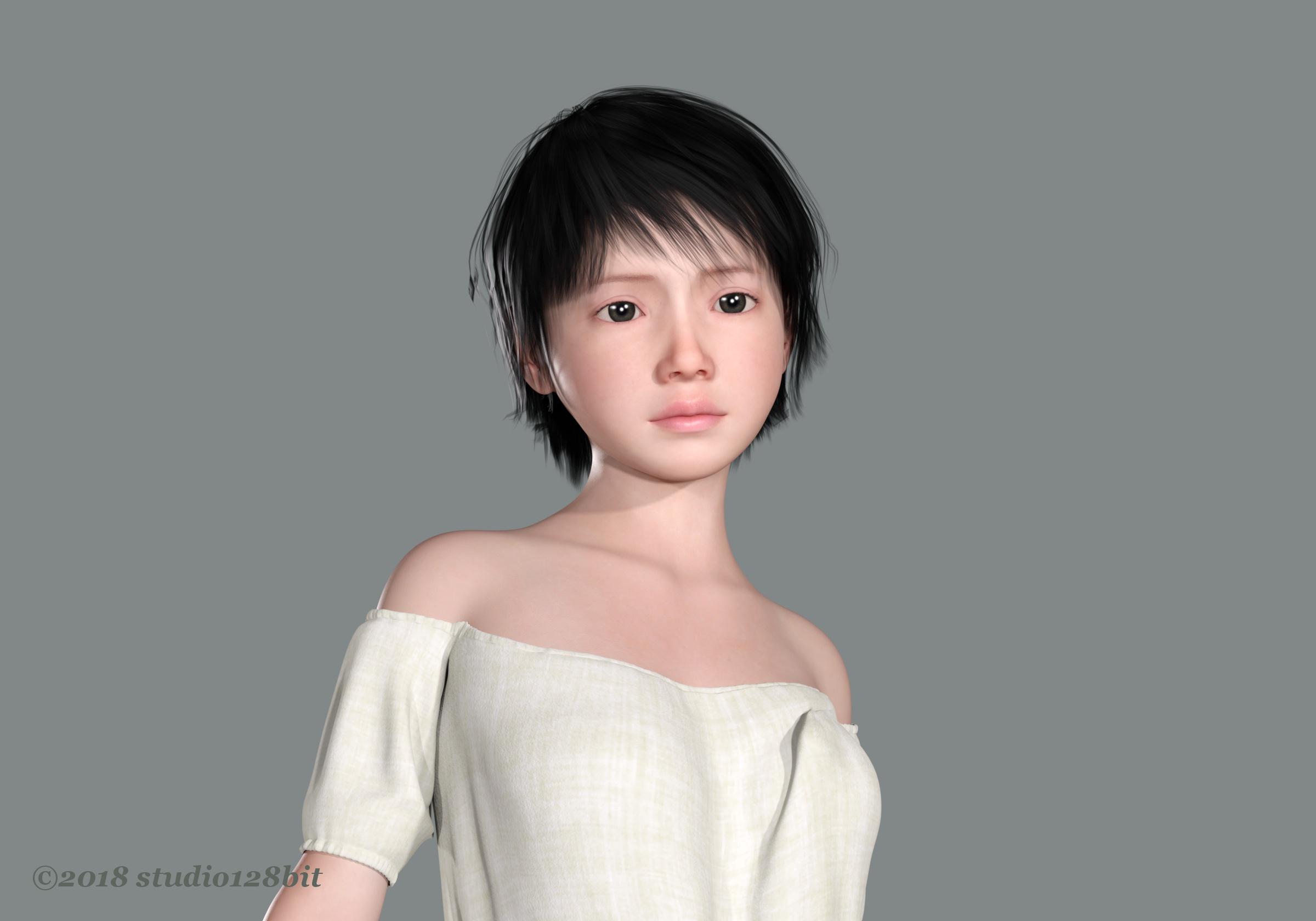 3DCG 純少女 美少女 Take10 No.5