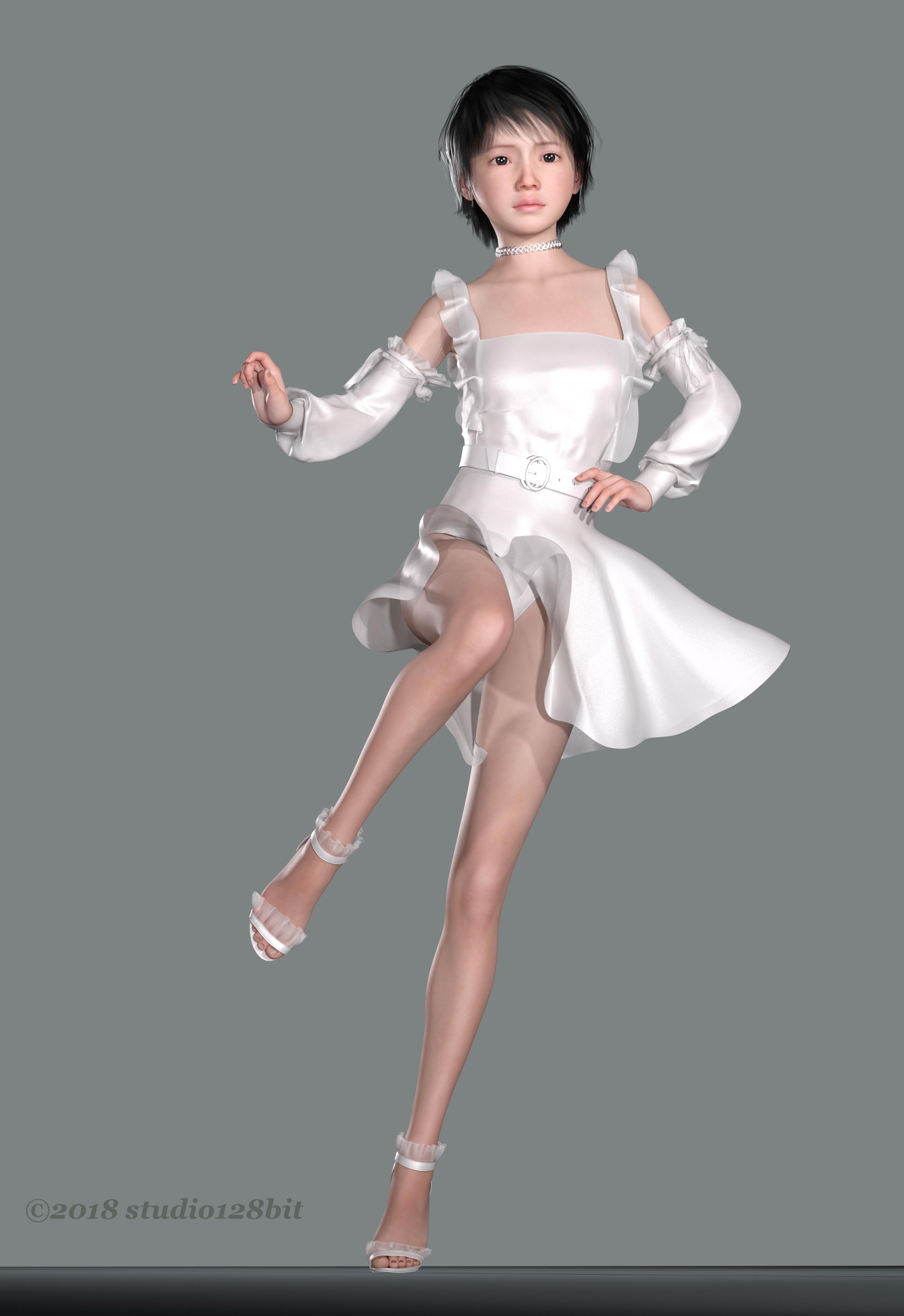 3DCG 純少女 美少女 Take21 No.1