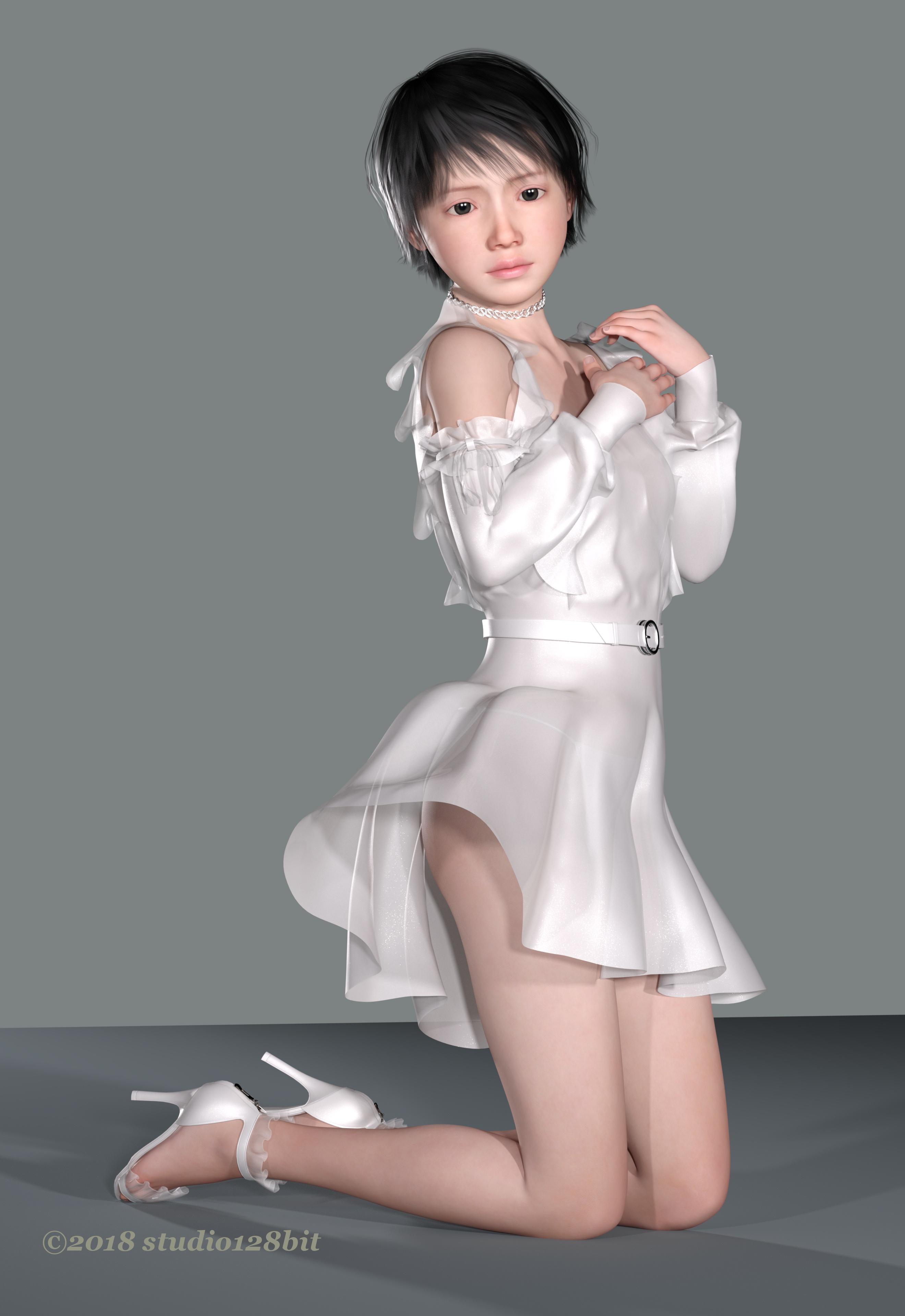 3DCG 純少女 美少女 Take21 No.4