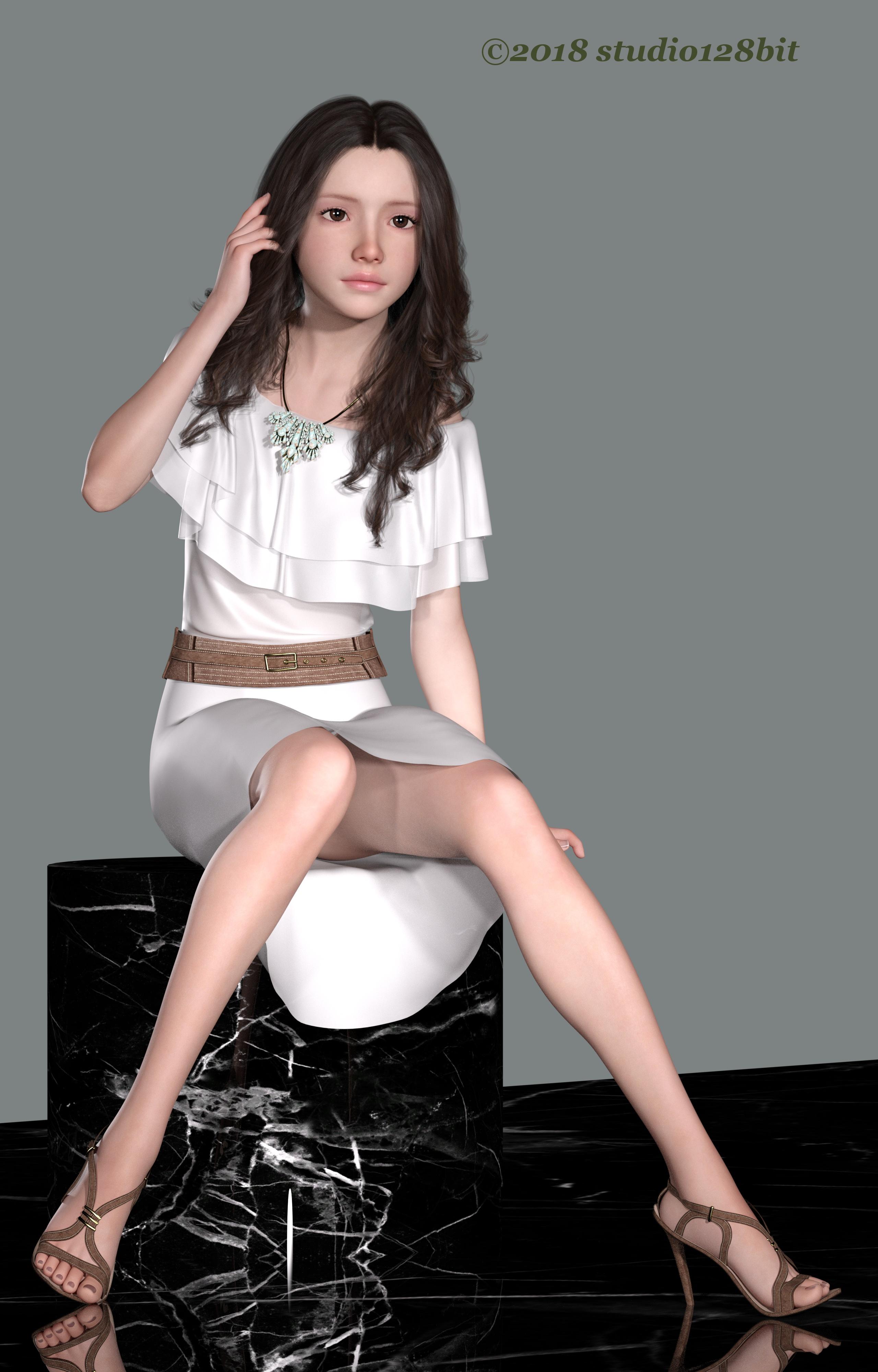 3DCG 純少女 美少女 Take24 No.4