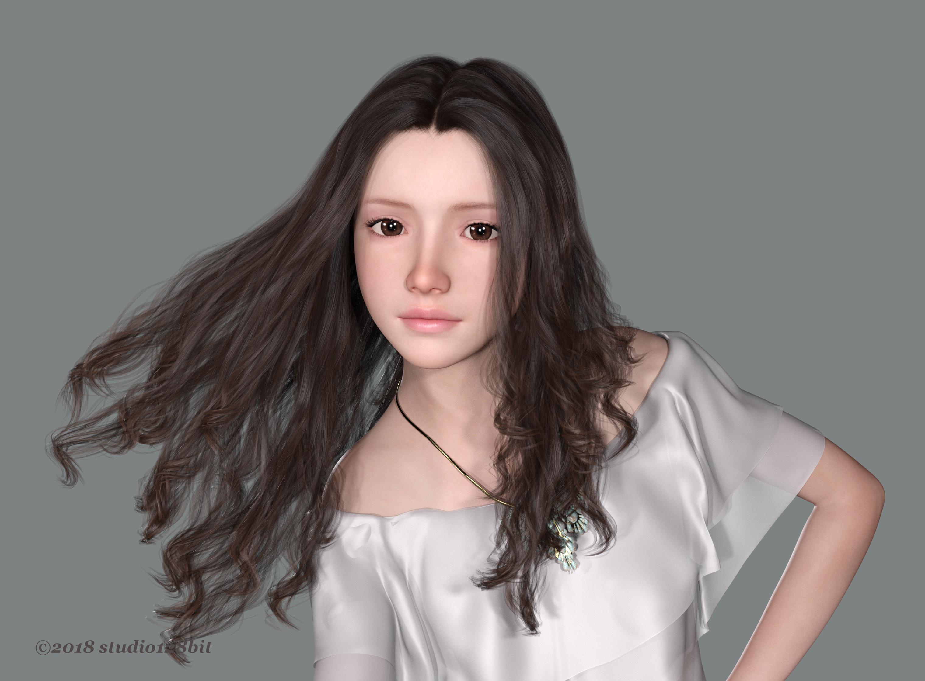 3DCG 純少女 美少女 Take24 No.2