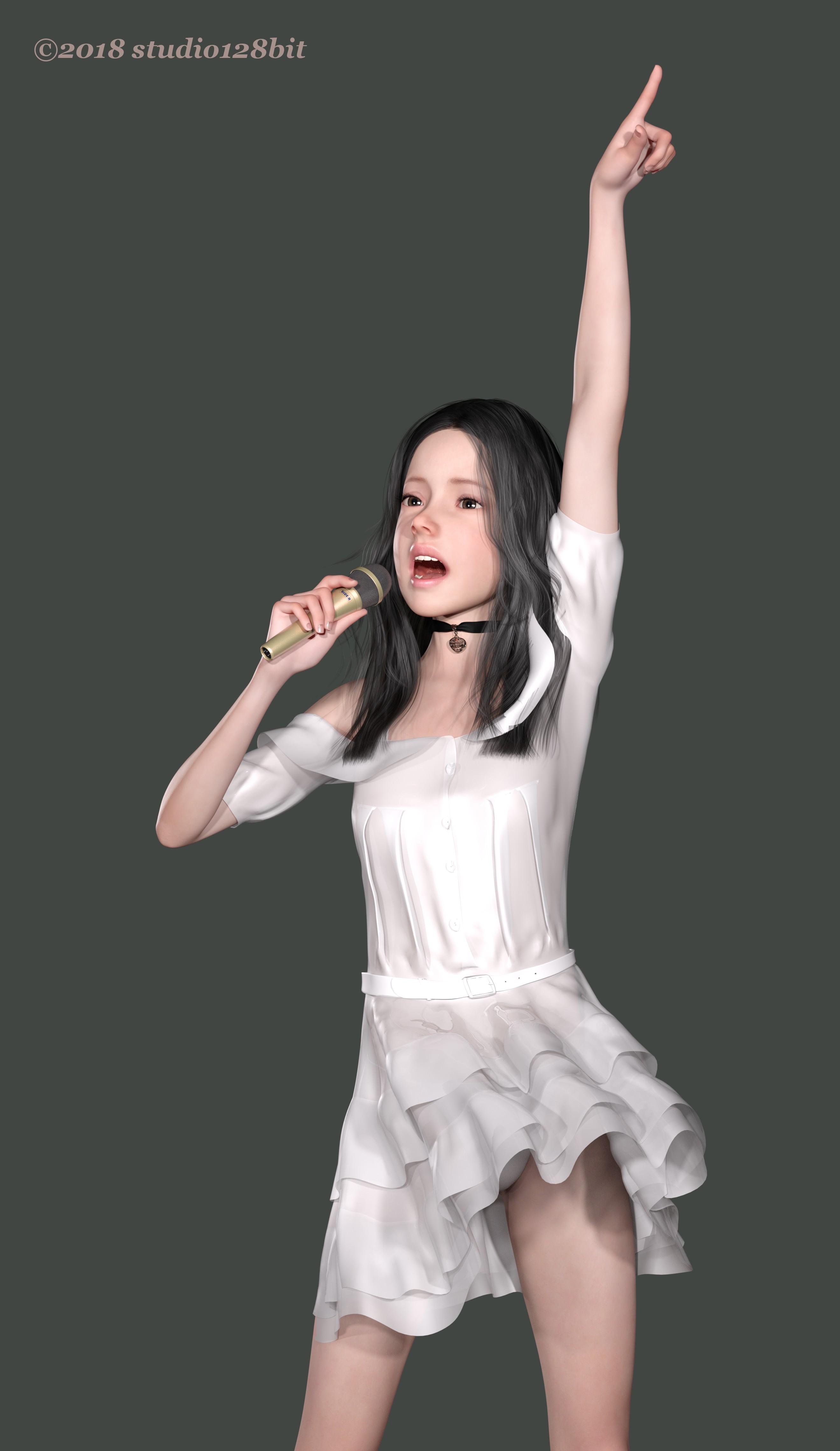 3DCG 純少女 Take27-9